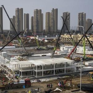Σε 10 μόλις μέρες χτίστηκε νοσοκομείο στην Κίνα για τον φονικό κορονοϊό