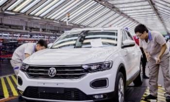 Στον πάγο  η γραμμή παραγωγής της   Volkswagen στην Κίνα