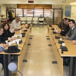 Συνάντηση αντιπροσωπειών των δήμων Αμπελοκήπων-Μενεμένης και Κονάκ Σμύρνης