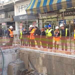 Τον Εμπορικό Σύλλογο Θεσσαλονίκης ενημέρωσε η ΑΤΤΙΚΟ Μετρό για την εξέλιξη του έργου