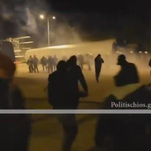 Κυβέρνηση εναντίον πολιτών σε Μυτιλήνη και Χίο