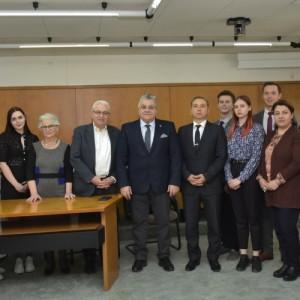 Με νέους ερευνητές του Προγράμματος «Ιάσων» συναντήθηκε ο Πρύτανης του ΑΠΘ