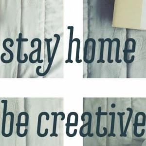 Διαγωνισμός Φωτογραφίας stay home - be creative