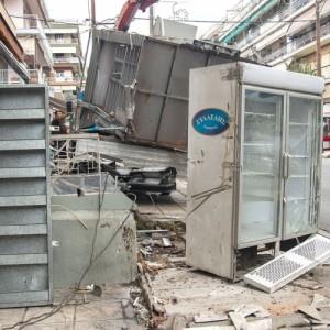 Σε εξέλιξη   απομάκρυνση περιπτέρων στο δήμο Νεάπολης-Συκεών