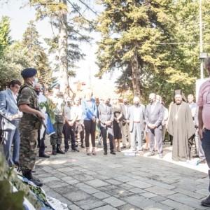 Μήνυμα ειρήνης και αντίστασης κατά του νεοφασισμού από το Μνημείο του Ολοκαυτώματος του Χορτιάτη