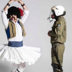 Αποστόλης Μπαρμπαγιάννης: Τσολιάς εν δε τσόλια μπαντ! «Πίτσες Μπλε - Χτικιό εντίσιον»