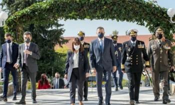Στη Θεσσαλονίκη ο Υφυπουργός Εθνικής Άμυνας Αλκιβιάδης Στεφανής