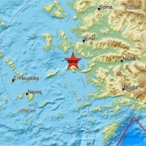 Ισχυρός σεισμός  6,9 Ρίχτερ στη Σάμο
