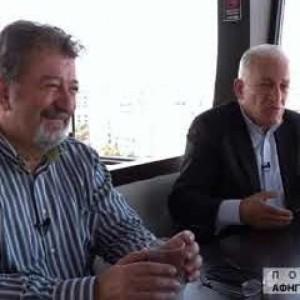 Σ. Δανιηλίδης, Ι. Καϊτεζίδης, Λ. Κυρίζογλου στις «Πολιτικές αφηγήσεις και περιηγήσεις» της TV100