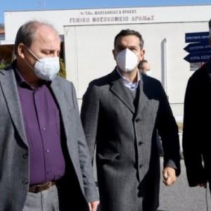 Τσίπρας: Τραγική και εκτός ελέγχου η κατάσταση στο νοσοκομείο της Δράμας