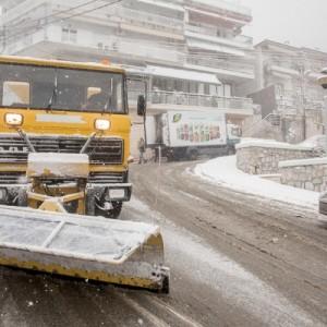 Σε επιφυλακή ο δήμος Πυλαίας-Χορτιάτη για τον χιονιά