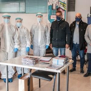Τεστ κορωνοϊού σε επαγγελματίες του Δήμου Λαγκαδά από το Επαγγελματικό Επιμελητήριο Θεσσαλονίκης