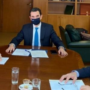 Συναντήσεις του Δημάρχου Θεσσαλονίκης με τους Υπουργούς Εσωτερικών και Περιβάλλοντος
