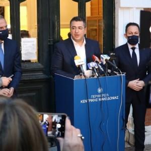 Θέματα της Αυτοδιοίκησης στο επίκεντρο της συνάντησης Τζιτζικώστα  - Πέτσα
