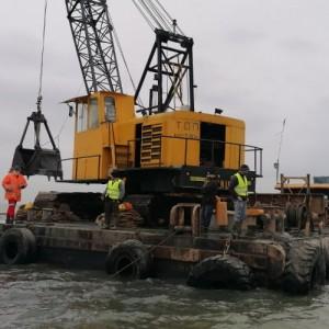 Ολοκληρώνεται ο καθαρισμός και η εκβάθυνση των εκβολών του ποταμού Λουδία