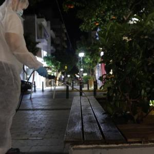 Απολύμανση κοινόχρηστων χώρων στον Δήμο Πειραιά