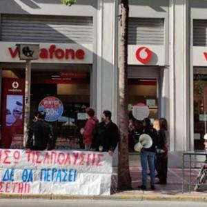 Δυναμικές κινητοποιήσεις για να παρθούν πίσω απολύσεις στη Vodafone