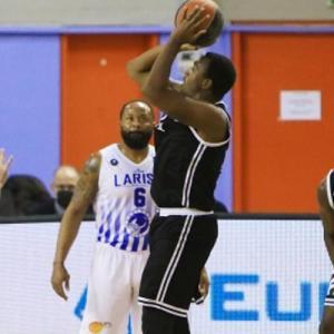 Basket League: Νίκη στην παράταση για τον ΠΑΟΚ στην έδρα της Λάρισας