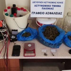 Συλλήψεις για κατοχή κάνναβης στη Θεσσαλονίκη