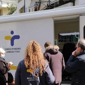 Δήμος Βύρωνα: 625 rapid tests - 15 κρούσματα