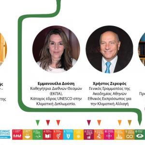 Δύο εκδηλώσεις για τον Πολιτισμό και την Κλιματική Αλλαγή
