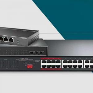 Η TP-Link® παρουσιάζει τη νέα σειρά PoE Switches