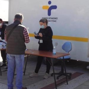 Δωρεάν Rapid Test στην Πλατεία Δημαρχείου Άνω Λιοσίων