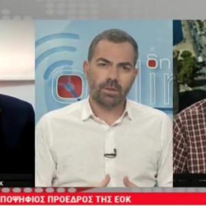 O Βαγγέλης Λιόλιος μιλά για την επόμενη ημέρα στο μπάσκετ στην TV100