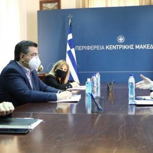Τρία νέα έργα της Περιφέρειας Κεντρικής Μακεδονίας εντάσσονται στο πρόγραμμα «Αντώνης Τρίτσης»
