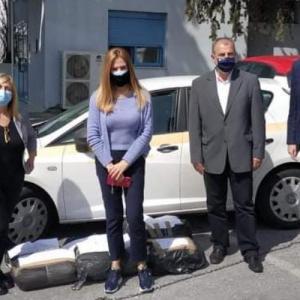 Είδη ιματισμού σε νοσοκομεία και μονάδες φροντίδας ευαίσθητων κοινωνικών ομάδων της Θεσσαλονίκης