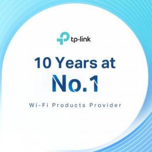 Η TP-Link Νο1 πάροχος προϊόντων Wi-Fi στον κόσμο την τελευταία δεκαετία