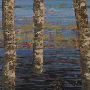Φως και Σκιά: Έκθεση ζωγραφικής του Μανώλη Πέντε στην Πάτμο