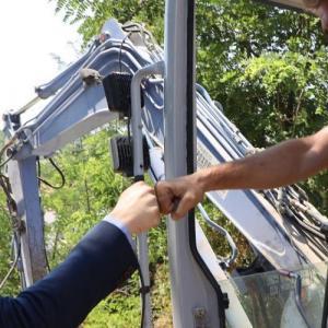 Αυτοψία σε έργα υποδομής της Περιφέρειας Κεντρικής Μακεδονίας στην Πιερία