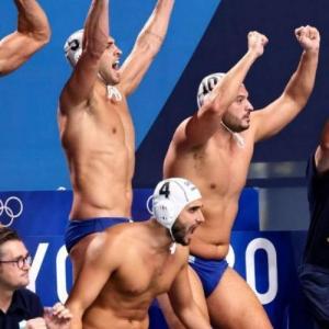 Για το χρυσό η Εθνική ομάδα πόλο των ανδρών