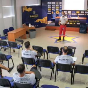 Σεμινάρια του Ερυθρού Σταυρού στις ομάδες της Super League