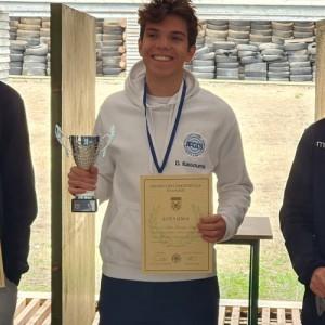 Διπλός Πρωταθλητής Ελλάδας στο Πιστόλι Στάνταρντ Εφήβων ο 18χρονος Δημήτρης Μάνος - Κασούμης