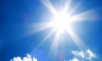 Σε υψηλά επίπεδα για την εποχή η θερμοκρασία