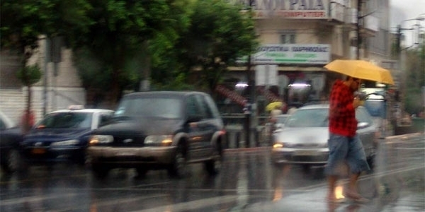 Τοπικές βροχές η πρόβλεψη του καιρού για σήμερα Παρασκευή στη Θεσσαλονίκη