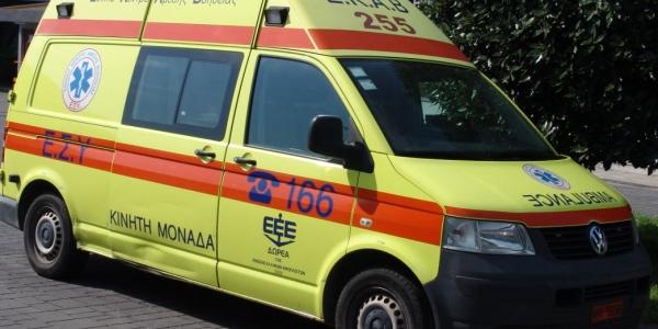 Σοβαρά τραυματισμένος 26χρονος αναβάτης δικύκλου σε τροχαίο
