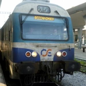 Σύγκρουση τρένου με μικρό φορτηγό  στο Ξυνό Νερό Αμυνταίου