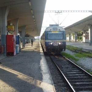 Συμβολικό κλείσιμο της σιδηροδρομικής γραμμής Αθηνών - Θεσσαλονίκης