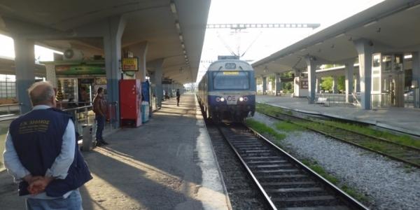 Διακοπή δρομολογίων τρένων