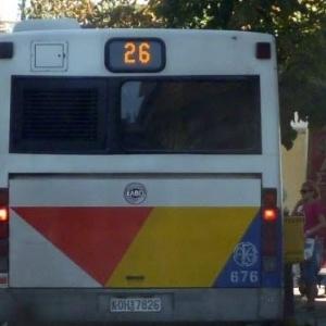 Γαντζώθηκαν πίσω από λεωφορείο του ΟΑΣΘ