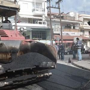 Δήμος Αμπελοκήπων: Ασφαλτοστρώσεις και δίκτυα κοινής ωφέλειας
