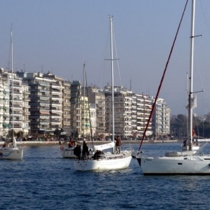 Γενικά αίθριος  ο καιρός σήμερα Σάββατο στη Θεσσαλονίκη