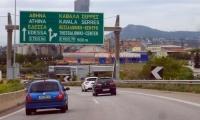 Εργασίες διαγράμμισης στην Περιφερειακή Οδό Θεσσαλονίκης