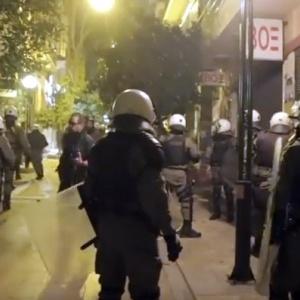 Δύο συλλήψεις χθες το βράδυ στην πορεία Γρηγορόπουλου στη Θεσσαλονίκη