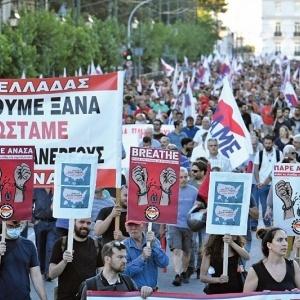 Συλλαλητήριο  στα Προπύλαια