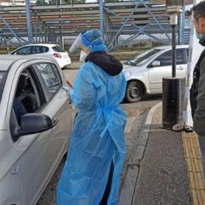 Δωρεάν rapid test στο αυτοκίνητο από τον Δήμο Πυλαίας- Χορτιάτη