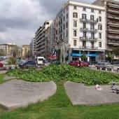 Αγίας Σοφίας, Πλατεία